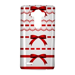 Ribbon Red Line Lg G4 Hardshell Case by Mariart