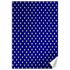Rainbow Polka Dot Borders Colorful Resolution Wallpaper Blue Star Canvas 12  X 18