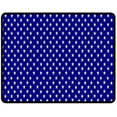 Rainbow Polka Dot Borders Colorful Resolution Wallpaper Blue Star Double Sided Fleece Blanket (medium)  by Mariart