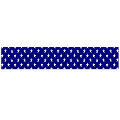 Rainbow Polka Dot Borders Colorful Resolution Wallpaper Blue Star Flano Scarf (large) by Mariart