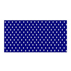 Rainbow Polka Dot Borders Colorful Resolution Wallpaper Blue Star Satin Wrap by Mariart