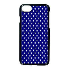 Rainbow Polka Dot Borders Colorful Resolution Wallpaper Blue Star Apple iPhone 7 Seamless Case (Black) by Mariart