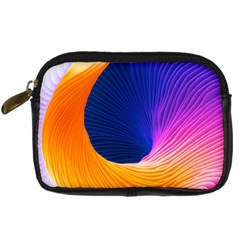 Wave Waves Chefron Color Blue Pink Orange White Red Purple Digital Camera Cases by Mariart