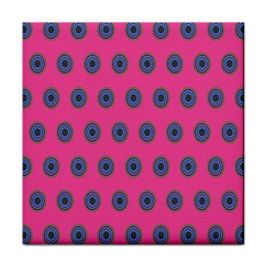 Polka Dot Circle Pink Purple Green Tile Coasters by Mariart