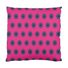 Polka Dot Circle Pink Purple Green Standard Cushion Case (two Sides) by Mariart