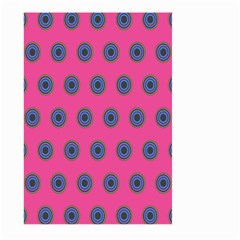 Polka Dot Circle Pink Purple Green Large Garden Flag (two Sides) by Mariart