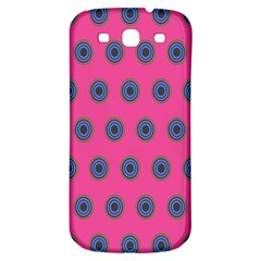 Polka Dot Circle Pink Purple Green Samsung Galaxy S3 S Iii Classic Hardshell Back Case by Mariart