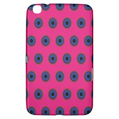 Polka Dot Circle Pink Purple Green Samsung Galaxy Tab 3 (8 ) T3100 Hardshell Case  by Mariart