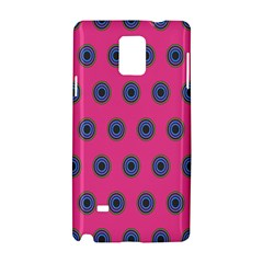 Polka Dot Circle Pink Purple Green Samsung Galaxy Note 4 Hardshell Case by Mariart