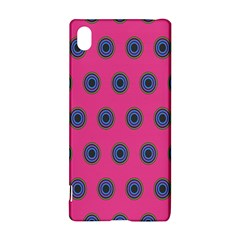 Polka Dot Circle Pink Purple Green Sony Xperia Z3+ by Mariart