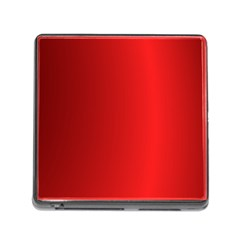 Red Gradient Fractal Backgroun Memory Card Reader (square) by Simbadda