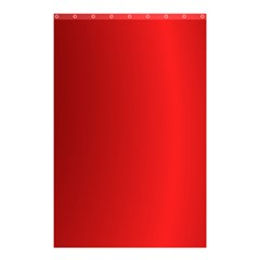 Red Gradient Fractal Backgroun Shower Curtain 48  X 72  (small)  by Simbadda