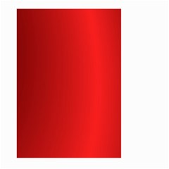 Red Gradient Fractal Backgroun Large Garden Flag (two Sides) by Simbadda