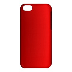 Red Gradient Fractal Backgroun Apple Iphone 5c Hardshell Case by Simbadda