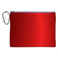 Red Gradient Fractal Backgroun Canvas Cosmetic Bag (xxl) by Simbadda