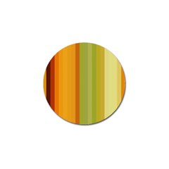 Colorful Citrus Colors Striped Background Wallpaper Golf Ball Marker (4 Pack) by Simbadda