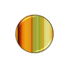 Colorful Citrus Colors Striped Background Wallpaper Hat Clip Ball Marker by Simbadda