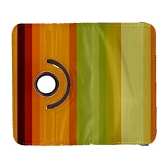 Colorful Citrus Colors Striped Background Wallpaper Galaxy S3 (flip/folio) by Simbadda