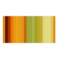 Colorful Citrus Colors Striped Background Wallpaper Satin Shawl by Simbadda