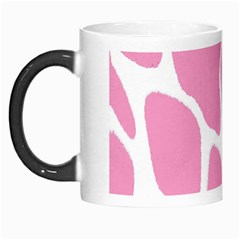 Baby Pink Girl Pattern Colorful Background Morph Mugs by Simbadda