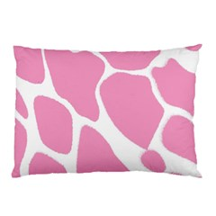 Baby Pink Girl Pattern Colorful Background Pillow Case (two Sides) by Simbadda