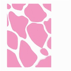 Baby Pink Girl Pattern Colorful Background Small Garden Flag (two Sides) by Simbadda