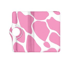 Baby Pink Girl Pattern Colorful Background Kindle Fire Hdx 8 9  Flip 360 Case by Simbadda