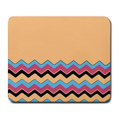 Chevrons Patterns Colorful Stripes Background Art Digital Large Mousepads by Simbadda