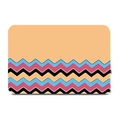 Chevrons Patterns Colorful Stripes Background Art Digital Plate Mats by Simbadda