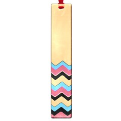 Chevrons Patterns Colorful Stripes Background Art Digital Large Book Marks by Simbadda