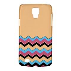 Chevrons Patterns Colorful Stripes Background Art Digital Galaxy S4 Active by Simbadda