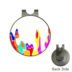 Simple Abstract With Copyspace Hat Clips With Golf Markers by Simbadda
