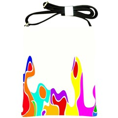Simple Abstract With Copyspace Shoulder Sling Bags by Simbadda