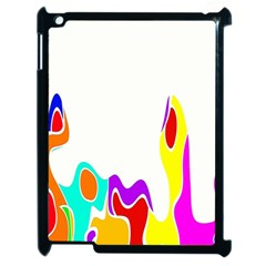 Simple Abstract With Copyspace Apple Ipad 2 Case (black) by Simbadda