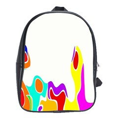 Simple Abstract With Copyspace School Bags (xl)  by Simbadda