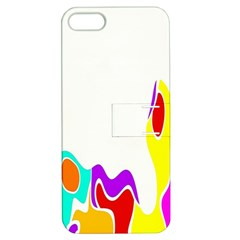 Simple Abstract With Copyspace Apple Iphone 5 Hardshell Case With Stand by Simbadda