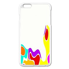 Simple Abstract With Copyspace Apple Iphone 6 Plus/6s Plus Enamel White Case by Simbadda
