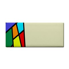 Digitally Created Abstract Page Border With Copyspace Cosmetic Storage Cases by Simbadda