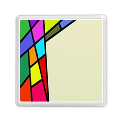 Digitally Created Abstract Page Border With Copyspace Memory Card Reader (square)  by Simbadda