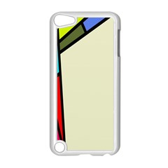 Digitally Created Abstract Page Border With Copyspace Apple Ipod Touch 5 Case (white) by Simbadda