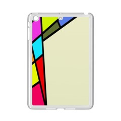 Digitally Created Abstract Page Border With Copyspace Ipad Mini 2 Enamel Coated Cases by Simbadda