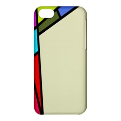 Digitally Created Abstract Page Border With Copyspace Apple Iphone 5c Hardshell Case by Simbadda