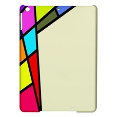 Digitally Created Abstract Page Border With Copyspace Ipad Air Hardshell Cases by Simbadda