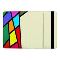 Digitally Created Abstract Page Border With Copyspace Samsung Galaxy Tab Pro 10 1  Flip Case by Simbadda