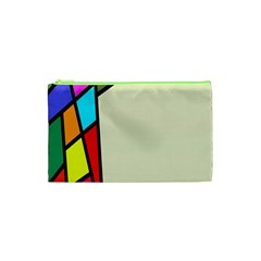 Digitally Created Abstract Page Border With Copyspace Cosmetic Bag (xs) by Simbadda