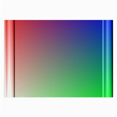3d Rgb Glass Frame Large Glasses Cloth by Simbadda