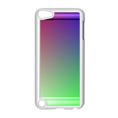 3d Rgb Glass Frame Apple Ipod Touch 5 Case (white) by Simbadda