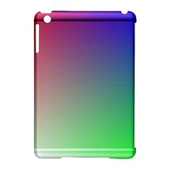 3d Rgb Glass Frame Apple Ipad Mini Hardshell Case (compatible With Smart Cover) by Simbadda