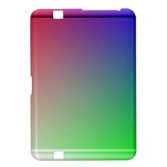 3d Rgb Glass Frame Kindle Fire Hd 8 9  by Simbadda
