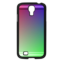 3d Rgb Glass Frame Samsung Galaxy S4 I9500/ I9505 Case (black) by Simbadda